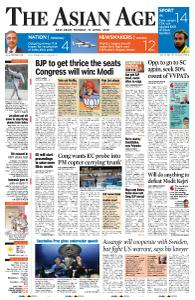 The Asian Age - April 15, 2019