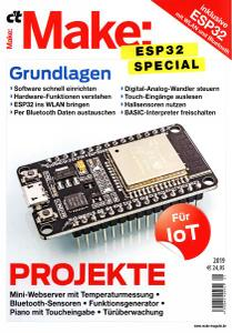c't Make Magazin - ESP32 Special 2019