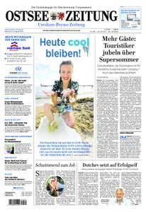 Ostsee Zeitung Wolgast - 08. August 2018