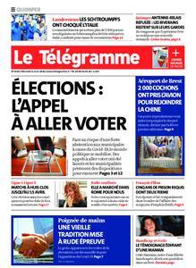 Le Télégramme Quimper – 11 mars 2020