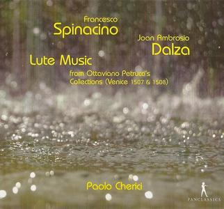 Paolo Cherici - Spinacino, Dalza: Lute Music (2012)