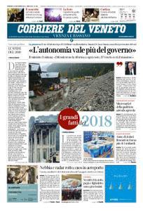 Corriere del Veneto Vicenza e Bassano – 30 dicembre 2018