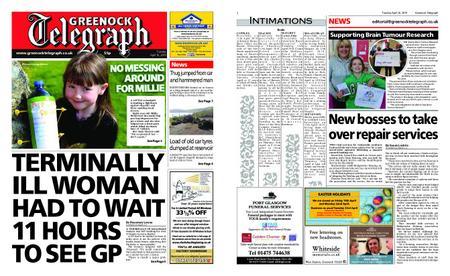 Greenock Telegraph – April 16, 2019