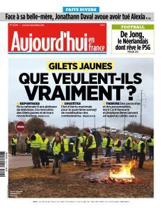 Aujourd'hui en France du Samedi 8 Décembre 2018