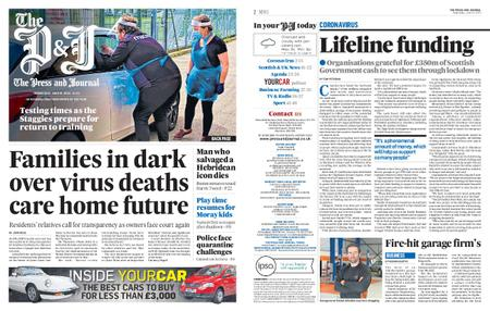 The Press and Journal Moray – June 10, 2020