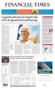 Financial Times Europe - July 9, 2020