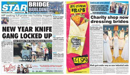 Shropshire Star Shrewsbury Edition – June 27, 2018