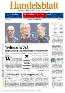 Handelsblatt - 27. Dezember 2016