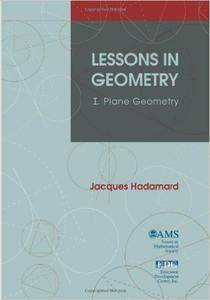 Lessons in Geometry I: I. Plane Geometry