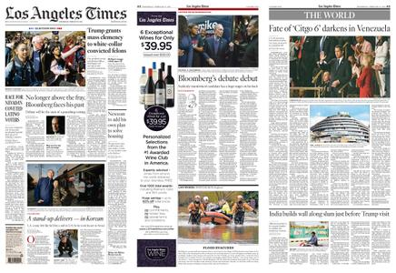 Los Angeles Times – February 19, 2020