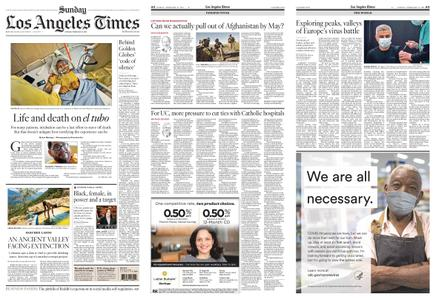 Los Angeles Times – February 21, 2021