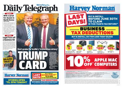 The Daily Telegraph (Sydney) – June 28, 2019