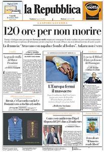 la Repubblica - 18 Ottobre 2019