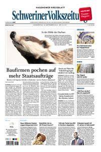 Schweriner Volkszeitung Hagenower Kreisblatt - 13. September 2018