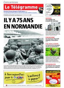 Le Télégramme Concarneau – 05 juin 2019