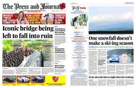 The Press and Journal Moray – November 11, 2017