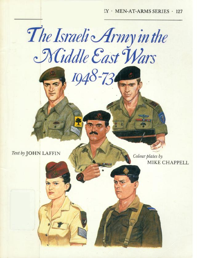 MAA #127 '' Israeli Army in the Middle East Wars 1948-73''