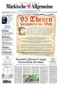 Neue Oranienburger Zeitung - 30. Oktober 2017
