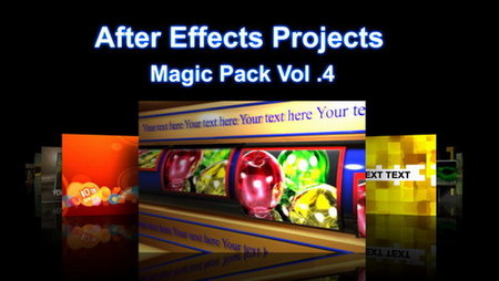 After Effects Projects Magic Pack Vol.04 More Than 100 Projects
