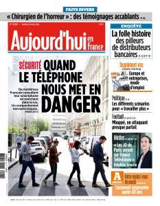 Aujourd'hui en France du Mardi 23 Avril 2019