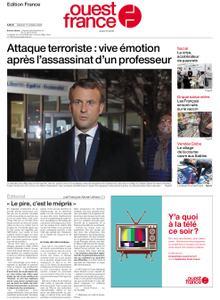 Ouest-France Édition France – 17 octobre 2020