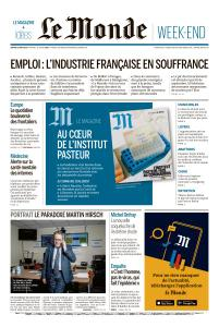 Le Monde du Samedi 23 Mai 2020