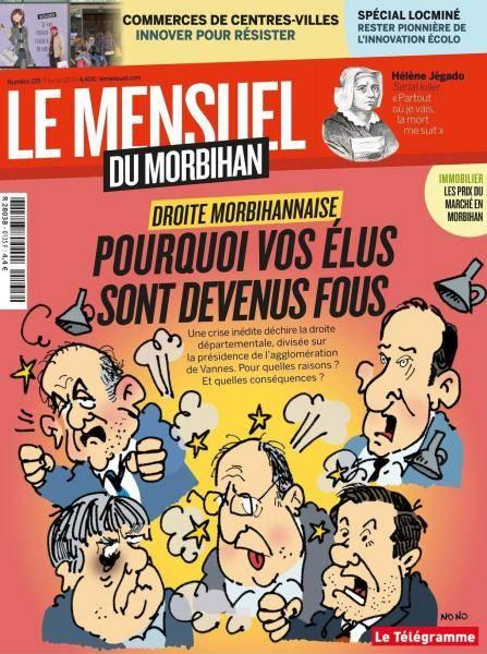 Le Mensuel du Morbihan N.135 - Fevrier 2017