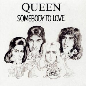 Queen - Somebody To Love (1991) (3''CD JAPAN Single)