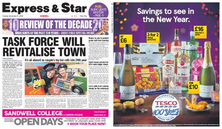 Express and Star Sandwell Edition – December 31, 2019