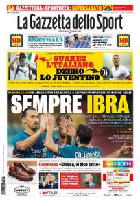 La Gazzetta dello Sport Roma – 18 settembre 2020