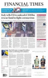 Financial Times Asia - March 20, 2020