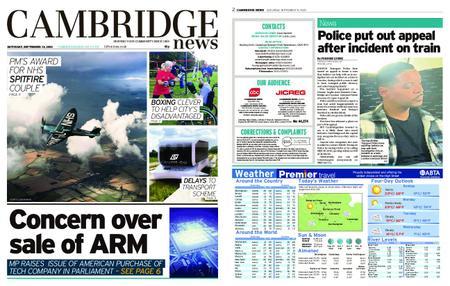 Cambridge News – September 19, 2020