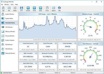 SysGauge Ultimate / Server 6.5.18