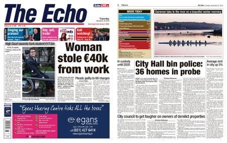 Evening Echo – November 12, 2019