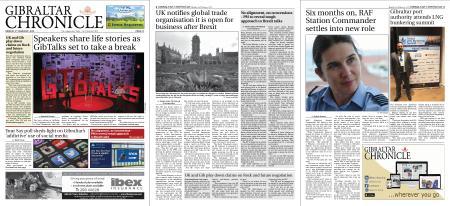 Gibraltar Chronicle – 03 February 2020