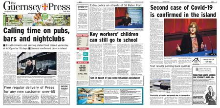 The Guernsey Press – 21 March 2020