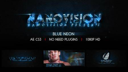 Blue Neon V.1 - Project for After Effects (VideoHive)