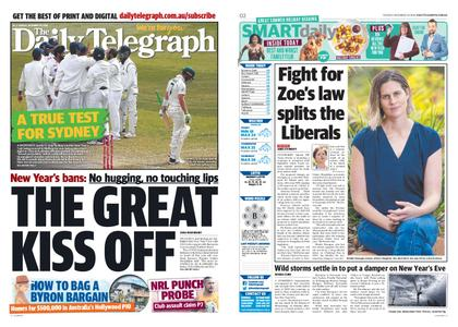 The Daily Telegraph (Sydney) – December 29, 2020