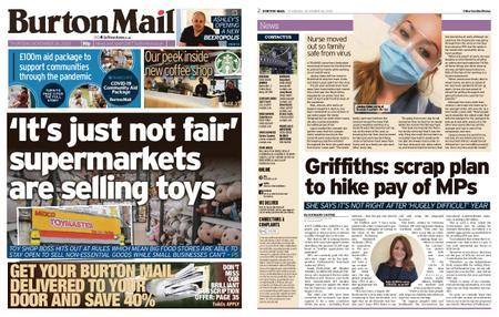 Burton Mail – November 26, 2020