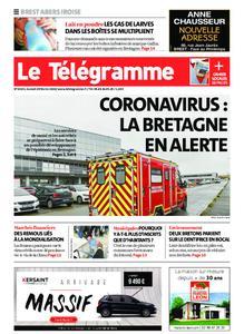 Le Télégramme Brest Abers Iroise – 29 février 2020