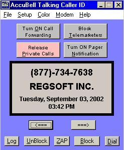 AccuBell Talking Caller ID ver. 3.2