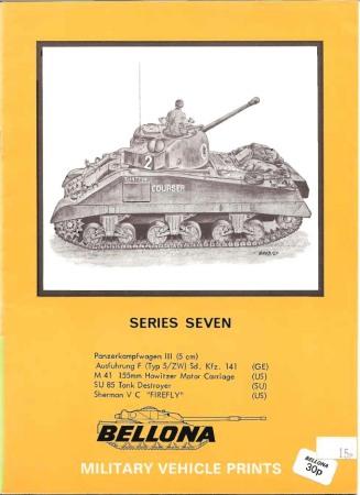 Bellona Military Vehicle Prints: series seven
