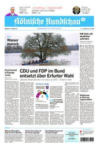 Kölnische Rundschau Wipperfürth/Lindlar – 06. Februar 2020