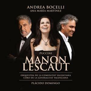 Andrea Bocelli, Ana María Martínez & Plácido Domingo - Puccini: Manon Lescaut (2014) [Official Digital Download 24/96]