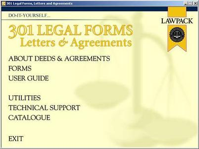 301 Legal Forms Letters and Agreements