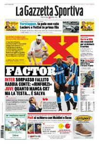 La Gazzetta dello Sport Roma – 27 ottobre 2019