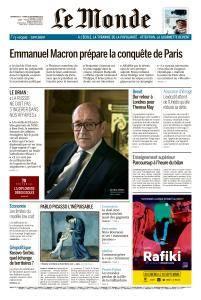 Le Monde du Dimanche 23 et Lundi 24 Septembre 2018