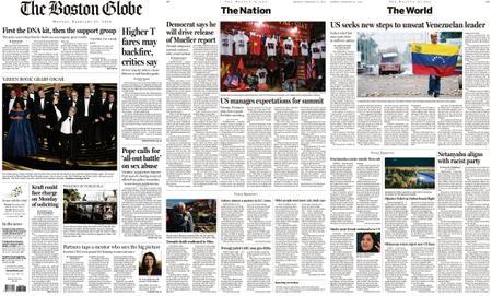 The Boston Globe – February 25, 2019