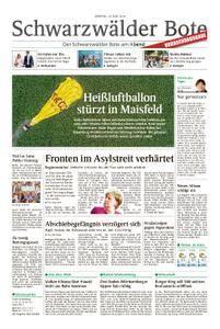 Schwarzwälder Bote Hechingen - 18. Juni 2018