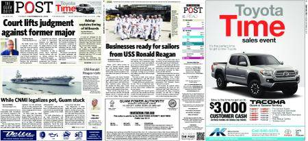 The Guam Daily Post – September 25, 2018
